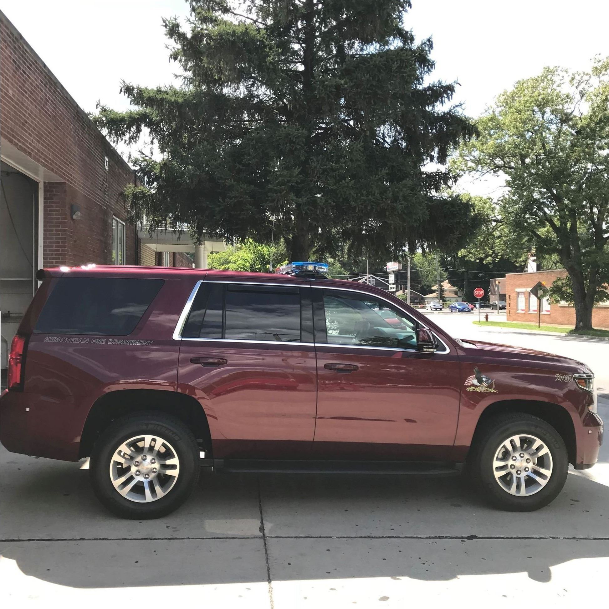 Fire Chief Vehicle 2700