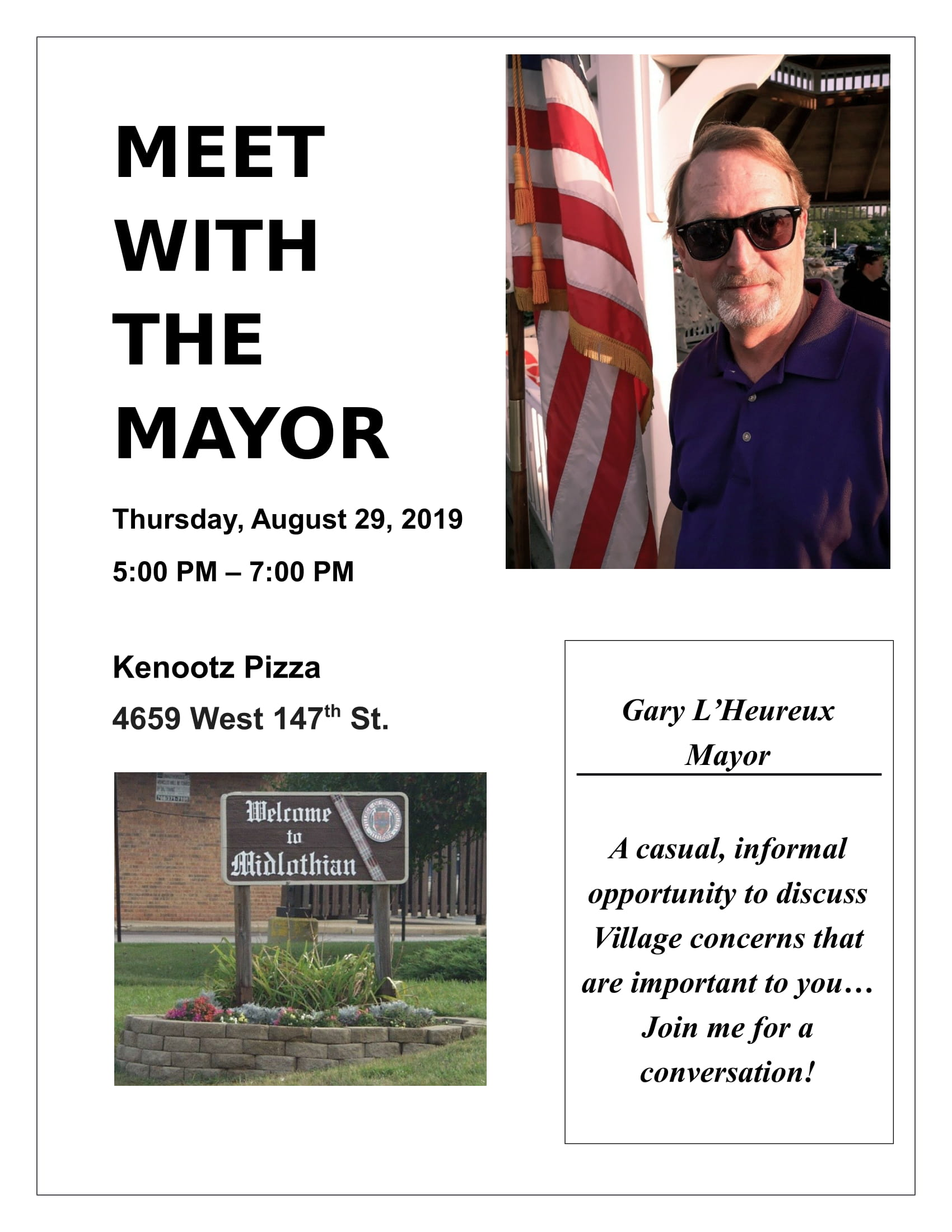 Meet with the Mayor