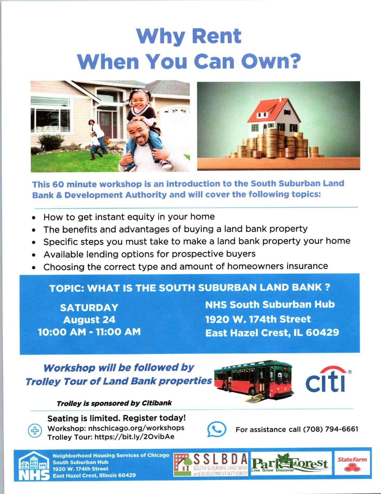 SSLBDA Home Buyer Trolley Tour